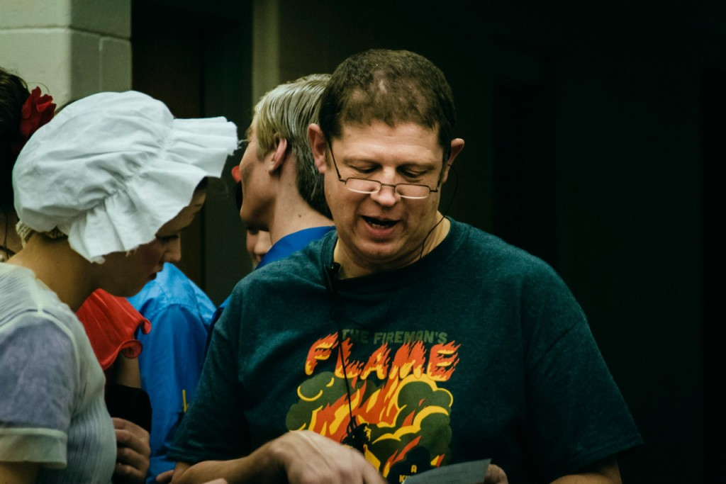 Dad's 'The Fireman's Flame' t-shirt. Pic credit: Aaron Kessler.